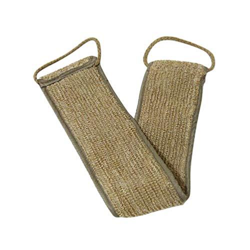 EXCEART Serviette de Récurage du Dos Coton Récureur Dos Serviette de Frottement du Dos Portable pour Dissolvant de Peau Morte