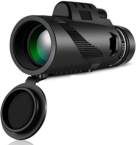 40x60 High Definition Monoculaire Telescope en Quick Smartphone Holder - waterdichte Monocular -BAK4 Prism for Wild van de Vogel Watching Hunting Camping Reizen Wildlife secenery