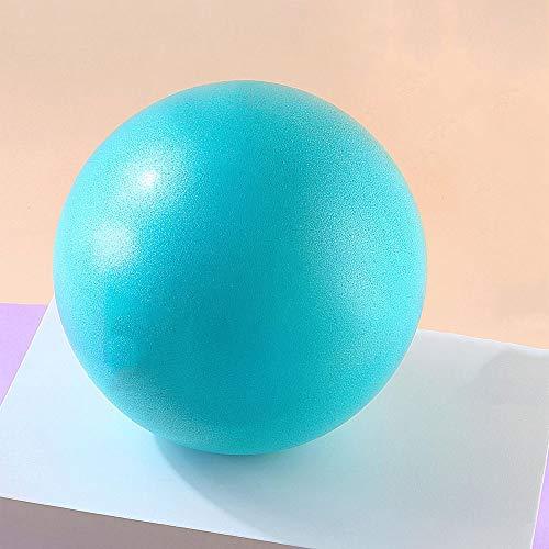 WJL Yoga Ball, Palla Morbida da 22 cm allevia tensioni e dolori muscolari - Ideale per Yoga, Pilates, Ginnastica e Fitness - Colore Blu, Rosso, Verde, Viola (Color : Blue, Size : 9in)