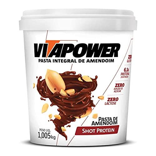 Pasta de Amendoim Sabores Gourmet (1,005Kg) - Sabor Shot Protein, Vita Power