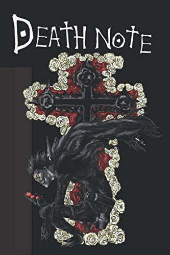 Death Note Notebook: Journal and notebook for cosplay and animelover with rules how to use size 6 x 9 inch 120 lined pages: Great Notebook for School or as a Diary.