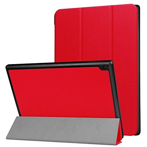 Lobwerk Case fur Lenovo Tab4 100 Zoll TB X304F Ultra Slim Cover Hardcase aufstellbar Wake Sleep Funktion GRATIS Stylus Touch Pen