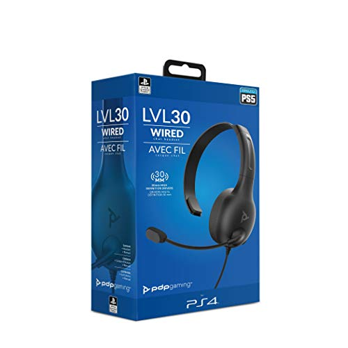 PDP Cuffie chat LVL30 per Sony Playstation 4 & 5