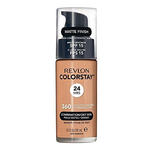 Revlon Base Liquida Colorstay 360 Golden Caramel Fps 15, Revlon