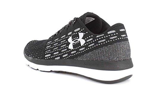 Under Armour Men's Threadborne Slingflex Shoes, Black/White, 8 D(M) US