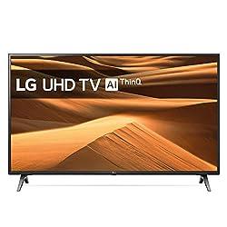 LG Electronics 49UM71007LB 123 cm (49 Zoll) Fernseher (UHD, Triple Tuner, 4K Active HDR, Smart TV), mit Alexa-Integration