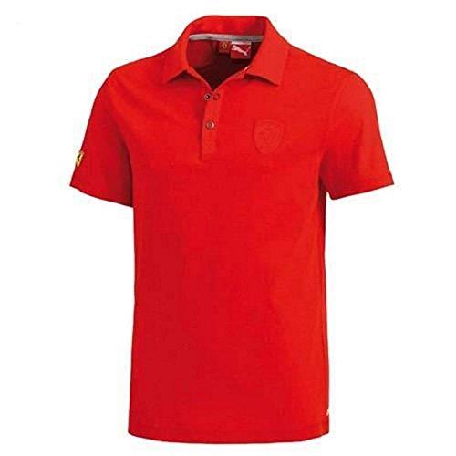 Ferrari Polo Classique Homme Rouge Taille M