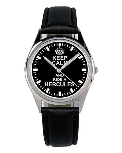 Geschenk für Hercules Moped Biker Fans Fahrer Kiesenberg Uhr B-1626