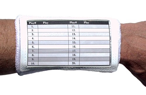 Unique Sports Football Playbook Band (White)