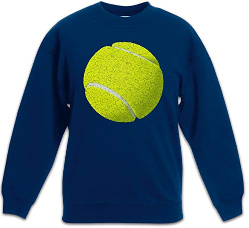 Urban Backwoods Tennis Ball Sudadera Suéter para Niños Niñas Pullover Azul Talla 12 Años