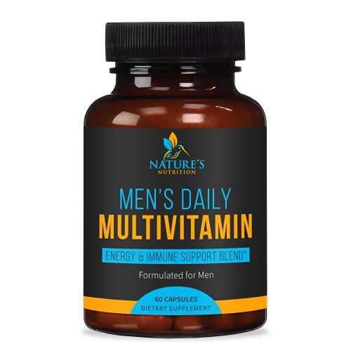 Multivitamin for Men, Extra Strength Daily Multi...