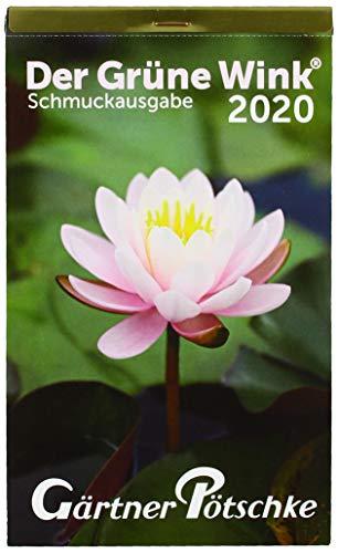 """Brunnen 107031501, Tageskalender 2020, 1 Seite = 1 Tag, Blockgröße 13 x 21, 4 cm, """"Gärtner Pötschke"""""""