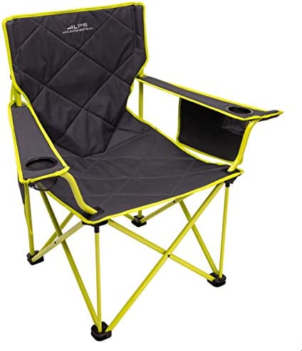ALPS Mountaineering King Kong Chair Charcoal Citrus product image