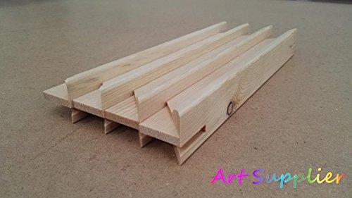 Bastidores para marcos de lienzos con cuñas de tensión, madera de pino, 38mm, 12' Stretcher Bars 30pcs