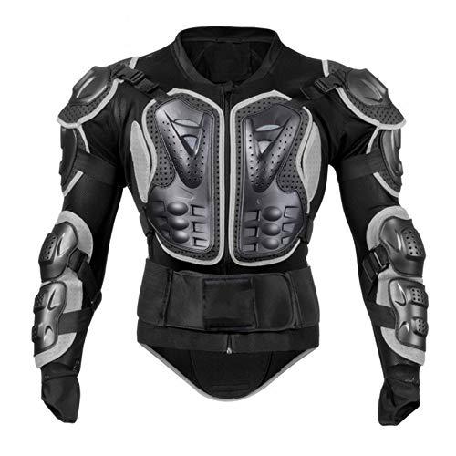 Massage-AED Armadura Motocross Hombre,Camisa Protectora Chaqueta Chaqueta Armadura Motocicleta Chaqueta de Motociclista Chaqueta de protección Pectoral Bicicleta de montaña Hombres o Mujeres