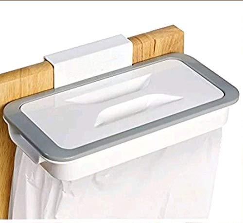 Tekshopping - Soporte para bolsas de basura con gancho para cajones y puertas móviles, para recoger bolsas de reciclaje, reciclaje de casa o cocina