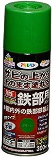 油性高耐久鉄部用スプレー 300mL (グリーン)/62-2309-56