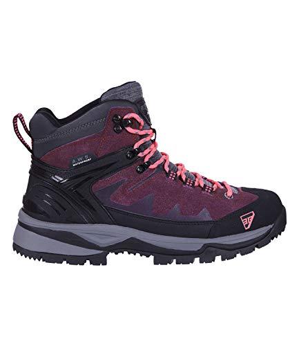 Icepeak Damen Outdoor-Boots Wynne Ms schwarz/lila - 37/37.0