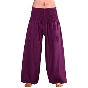 Leucht-Welten Pantalones Yoga Harem Lana P3 | DeHippies.com