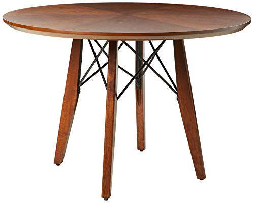 Clark Round Dining/Pub Table Pecan See Below