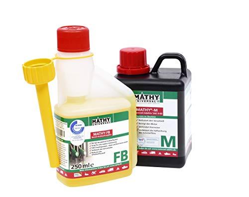 MATHY reiniger voor de motor + brandstofsysteem benzine starterset M FB