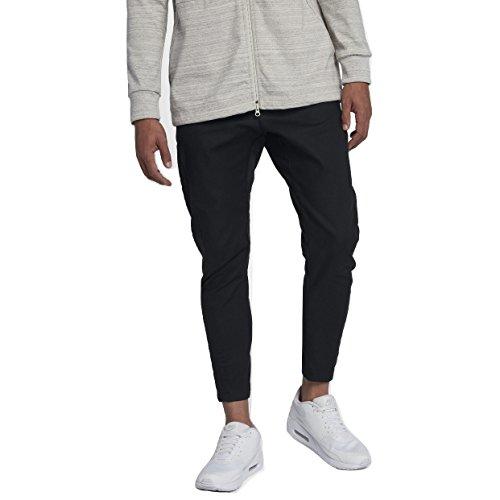 Nike Sportswear Bonded Men's Pants (Black, 36)