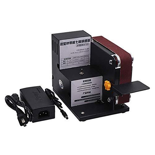 LULUTING Hojas de Sierra Micro Cinturón Sander - Micro Mini eléctrico lijadora...