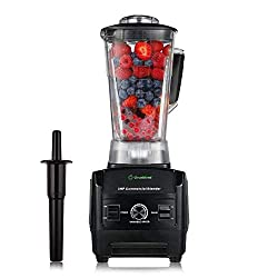 heavy duty Blender By Cleanblend: Commercial Blender, Mixer, Smoothie Blender, 64 Ounce BPA Free Container,