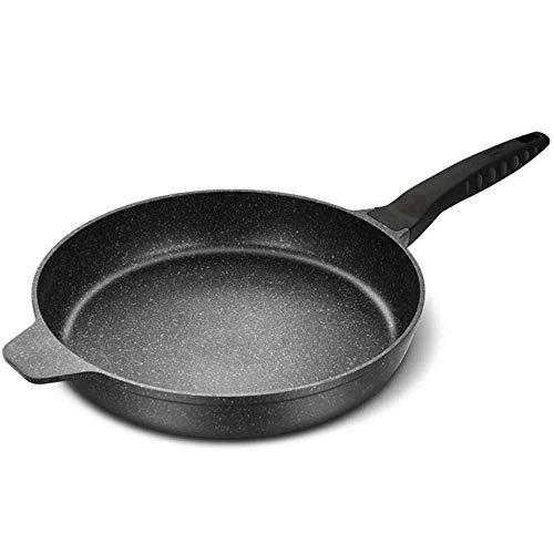 Sûr Saute Pan Poêles à frire wok Antiadhésive, multi-fonctions Maifan Pierre Pan for les crêpes/Fried Dumplings/Fried oeufs/Wok/Cuisinière à gaz Cuisinière à induction