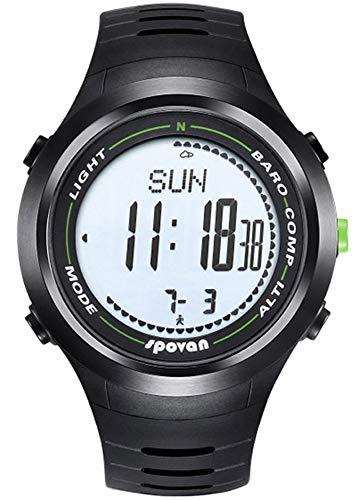 spovan Multifunción Al Aire Libre Reloj Deportivo Digital