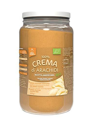 Smile Crunch 100% Crema Di Arachidi Ricetta Americana Bio - 600 Gr