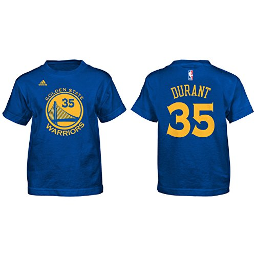 Adidas Kevin Durant Golden State Warriors Kids Blue Jersey Name And Number T Shirt Large 7 Buy Online In Maldives At Maldives Desertcart Com Productid 16009692