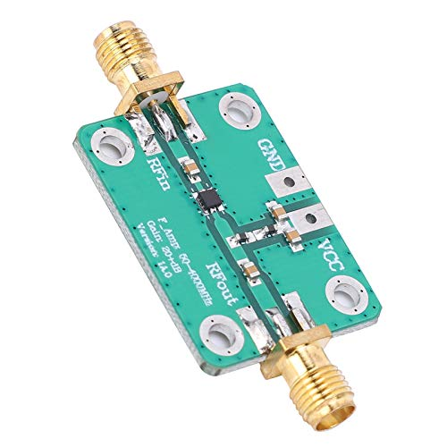 RF Amplifier Module, Durable 8‑16GHZ Output Frequency 2 Magnification RF Module, for Remote Control Receiver Shortwave FM Radio