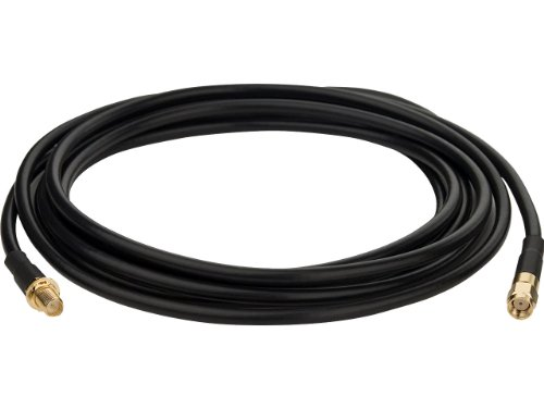 TP-LINK TL-ANT24EC3S 3m/10ft Antenna Extension Cable, RP-SMA Male to Female connector