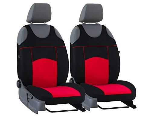 Nieuwe stoelhoezen Tuning 100% zitkussen universele maat geschikt voor Volvo V50 rood