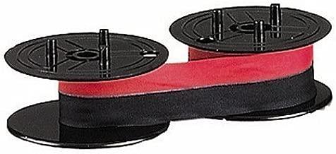 Nu-kote Model BR80C-6 Red/Black Nylon Ribbons, Pack Of 6