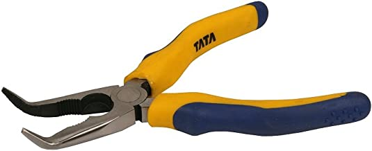 AGRICO TATA Heavy-Duty Bent Nose Plier Multi-Purpose Hand Tool (8 Inches)