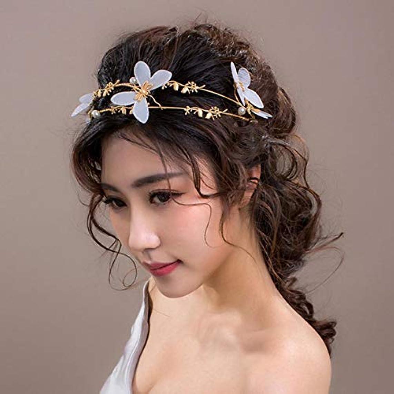 Gold Crown Tiara Diadem Bride Bridesmaid Bride Wedding Jewelry White Butterfly Hair Clip Headdress Head Dress Crown Accessories Birthday Party