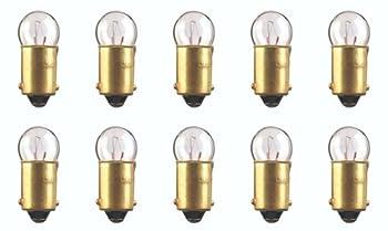 CEC Industries #53X Bulbs 14.4 V 1.728 W BA9s Base G-3.5 shape  Box of 10