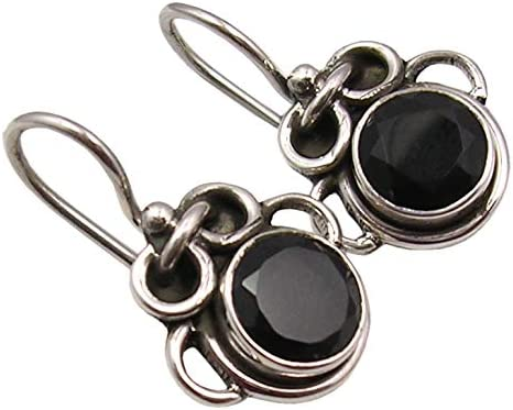 SilverStarJewel 925 Solid Silver 7 x mm Dedication Sty Ancient Onyx Popular shop is the lowest price challenge Black