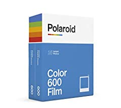 VERSATILE FILM: two packs of Polaroid instant film for one low price. Our double pack of film contains two sets of color 600 film for a total of 16 photos. Compatible with for 600 cameras and I-type cameras LIGHT IT UP: Polaroid Instant Film loves li...