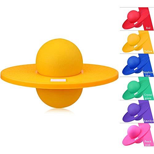 Rxrenxia Children's Swing Seesaw,Balance Board Kids Training Equipment Children's Track Balance Board Rock Seesaw Fitness Balance Early Education Kindergarten Toys,Yellow
