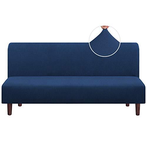 Stretch Armless Futon Cover Futon Slipcover Full Queen Size Futon Couch Cover Futon Sofa Cover Futon...