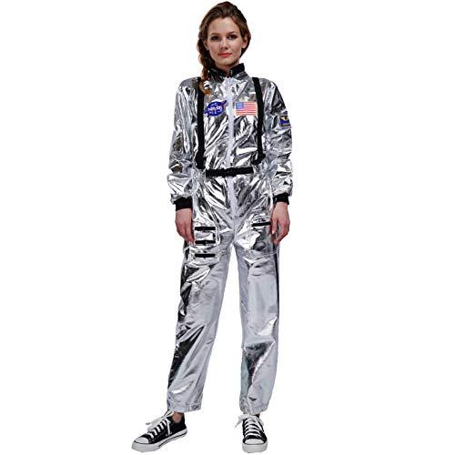 SEA HARE Disfraz de Astronauta Adulto (Mujer sin Sombrero)