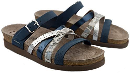 Mephisto HULEDA Damen Sandale - Marineblau (numeric_42)