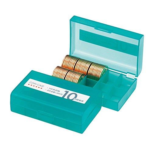 オープン工業 コインケース 10円用 収納100枚 M-10W