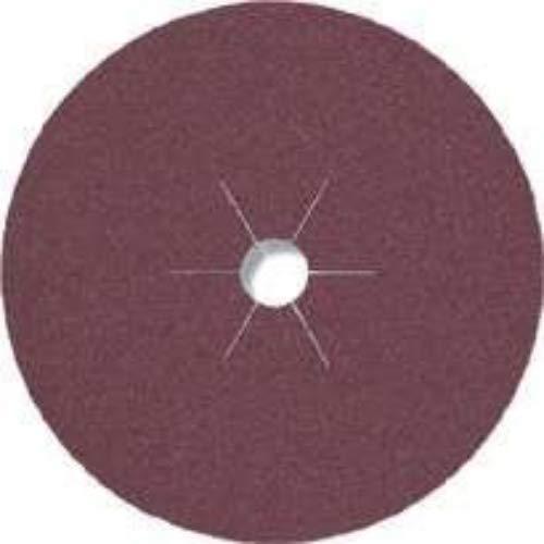 Klingspor 11022 Schleif - Fiberscheibe CS 561, 125X22 mm, 25 Stk. Korn: 240, 240-25 Stück, 125 x 22 mm Sternloch