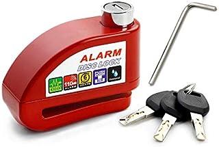$29 » Sponsored Ad - Bike Lock Anti-theft Alarm Disc Lock Waterproof Disc Brake Lock 110db Red Motorcycle Lock,Disc Brake Lock, ...