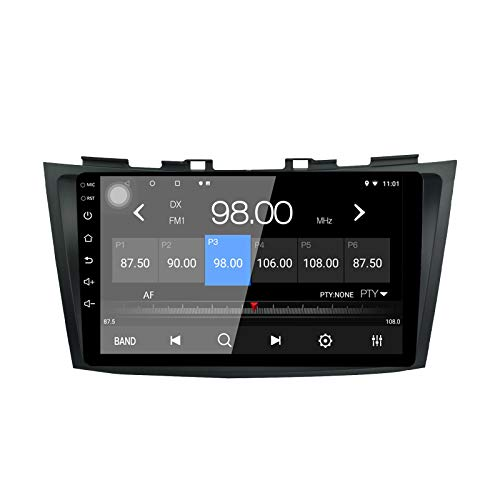 LEXXSON Android 8.1 Autoradio per Suzuki Swift 2011-2017, Ertiga 2012-2017 | 9 pollici AM FM Radio con Navigazione GPS Wifi Bluetooth Lettore USB Controllo Volante MirrorLink Back Camera Input 1+16G