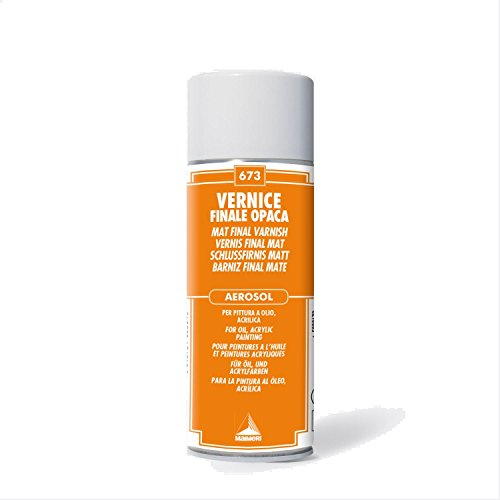 MAIMERI VERNICE FINALE OPACA SPRAY 400ml.